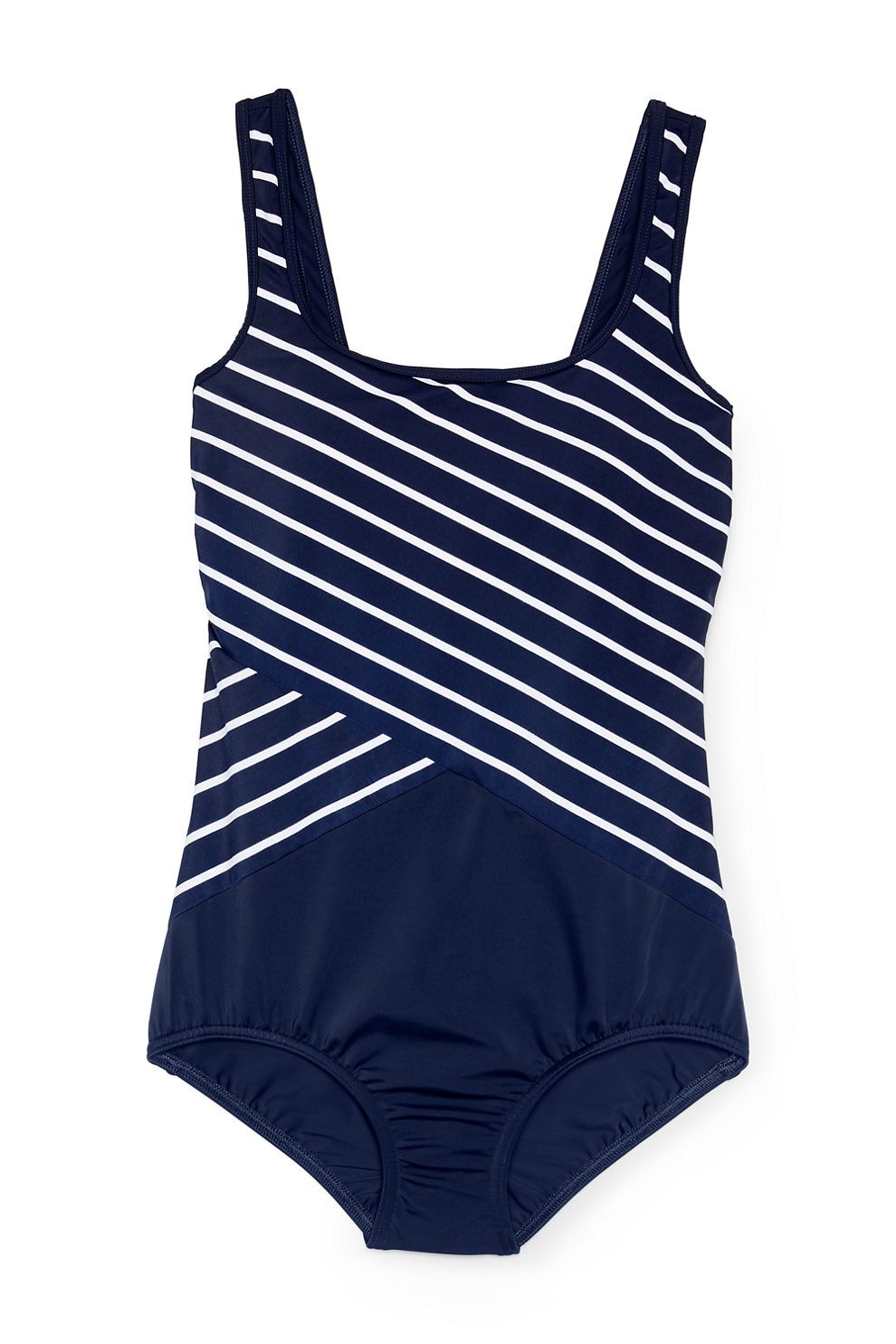 7774ed7a96d Women's Tugless One Piece Swimsuit Soft Cup from Lands' End | My ...
