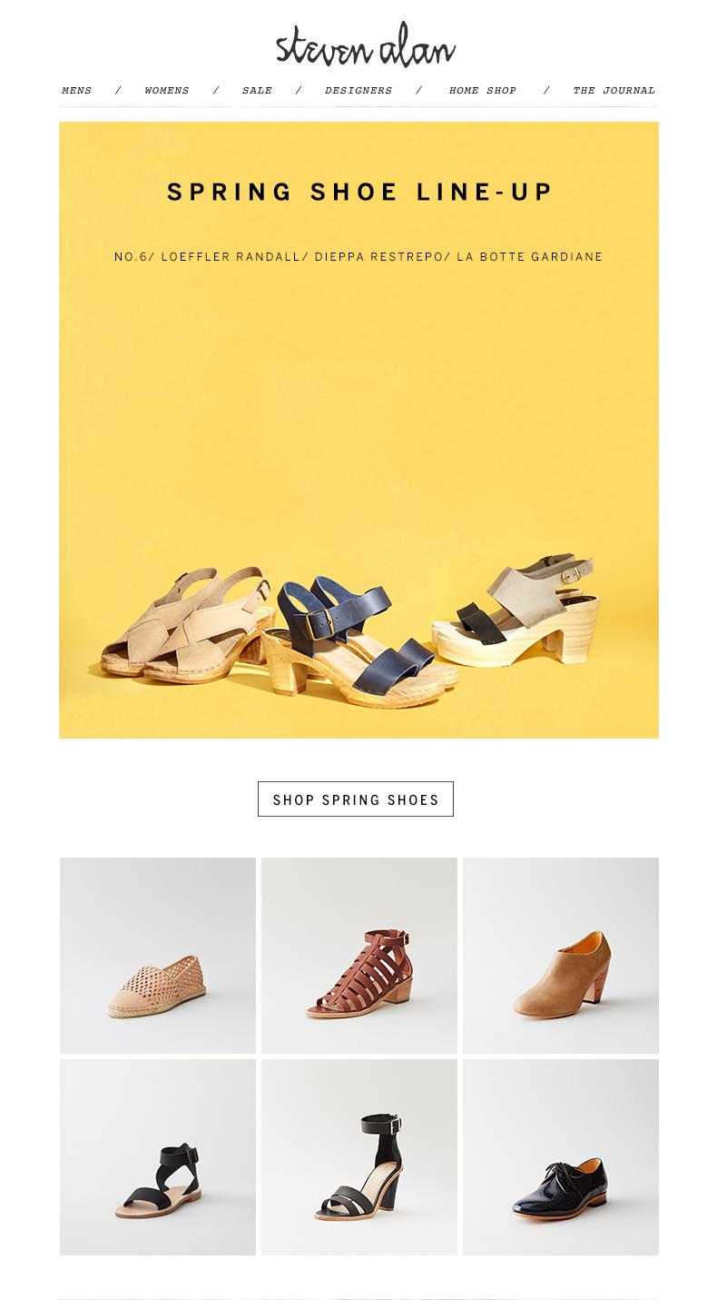 Spring Shoes // Steven Alan
