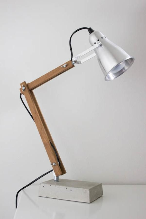DIY Bedside Table Lamp from Nimi Design, Remodelista