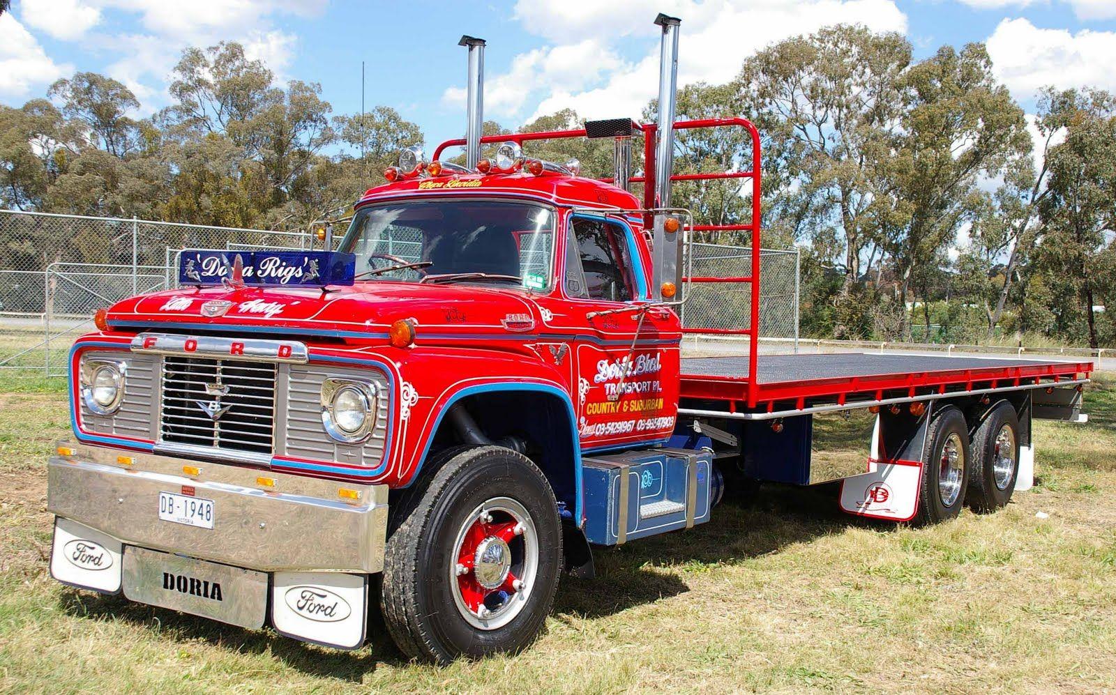 Ford F900 Ford 900 Tractor Ford Pickup Trucks Trucks