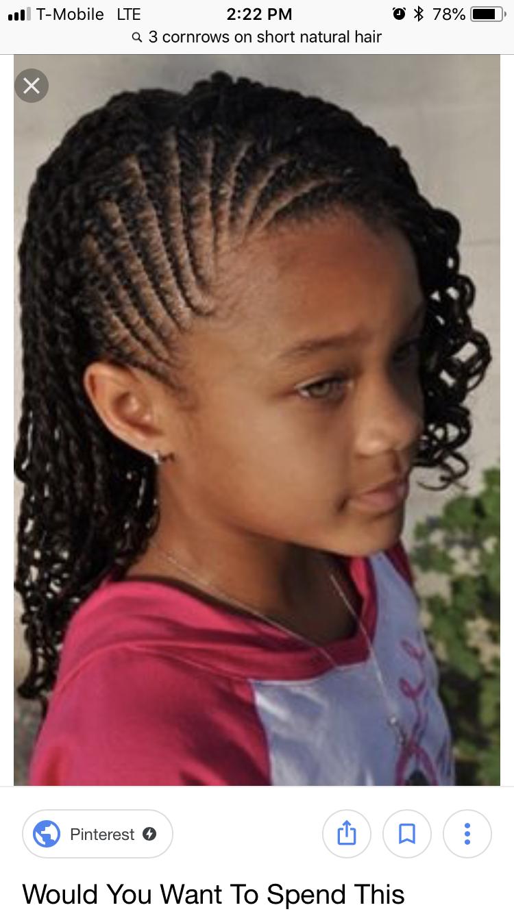 Pin By Toniah D On School African Braids Hairstyles Girls