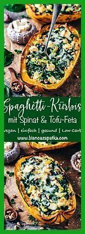 mit Spinat und Feta Rezepte RezepteSpaghettiKürbis mit Spinat und Feta Rezepte Rezepte Perfekt für alle BlumenkohlLiebhaber Eine besonders leckere vegetarische...