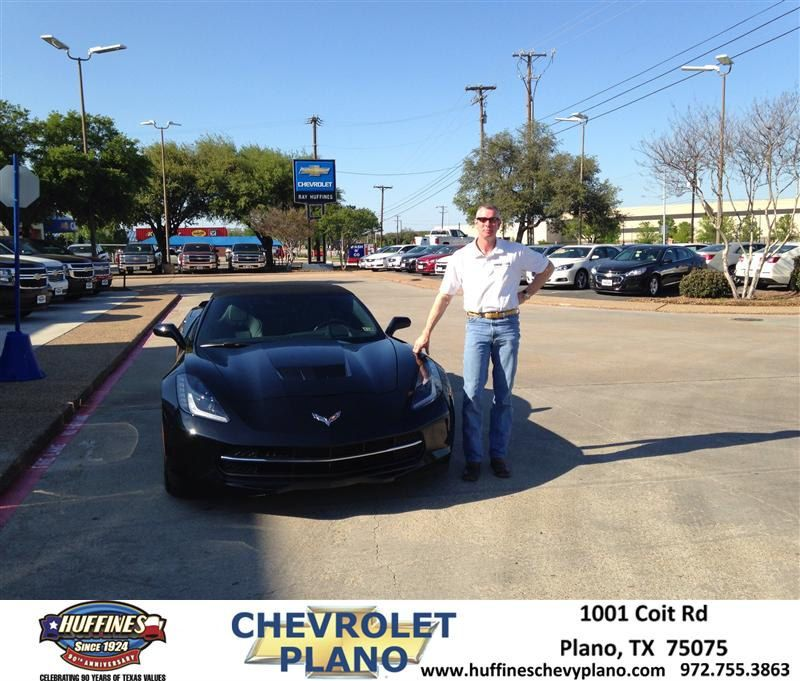 Congratulations to Richard Williams on your #Chevrolet #Corvette Stingray purchase from Travis Kilcullen at Huffines Chevrolet Plano! #NewCar