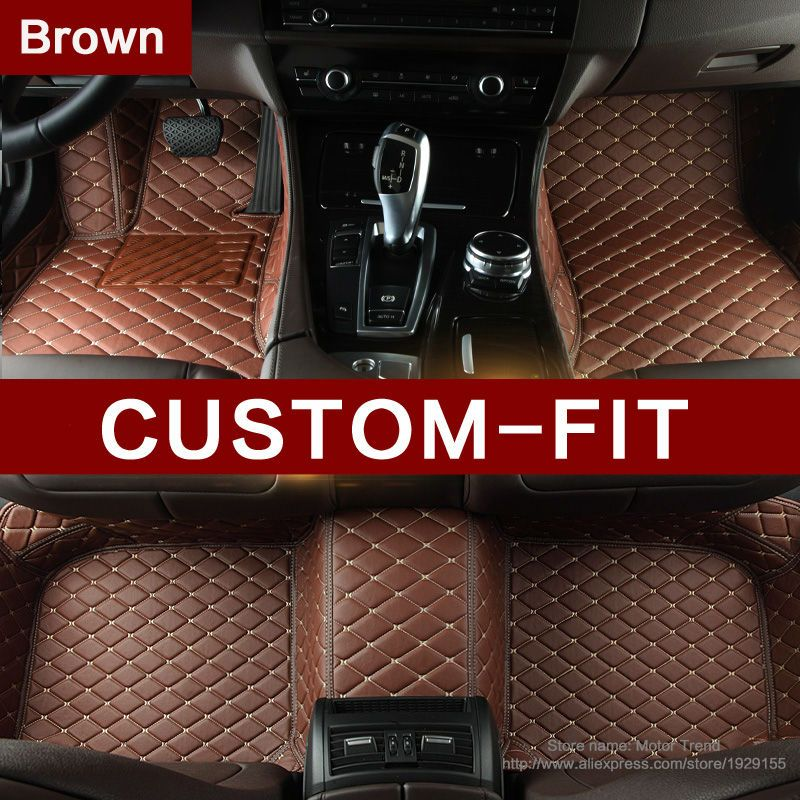 Specially Customizd Fit Car Floor Mats For BMW Z E E Leather - Audi a3 04 car mats