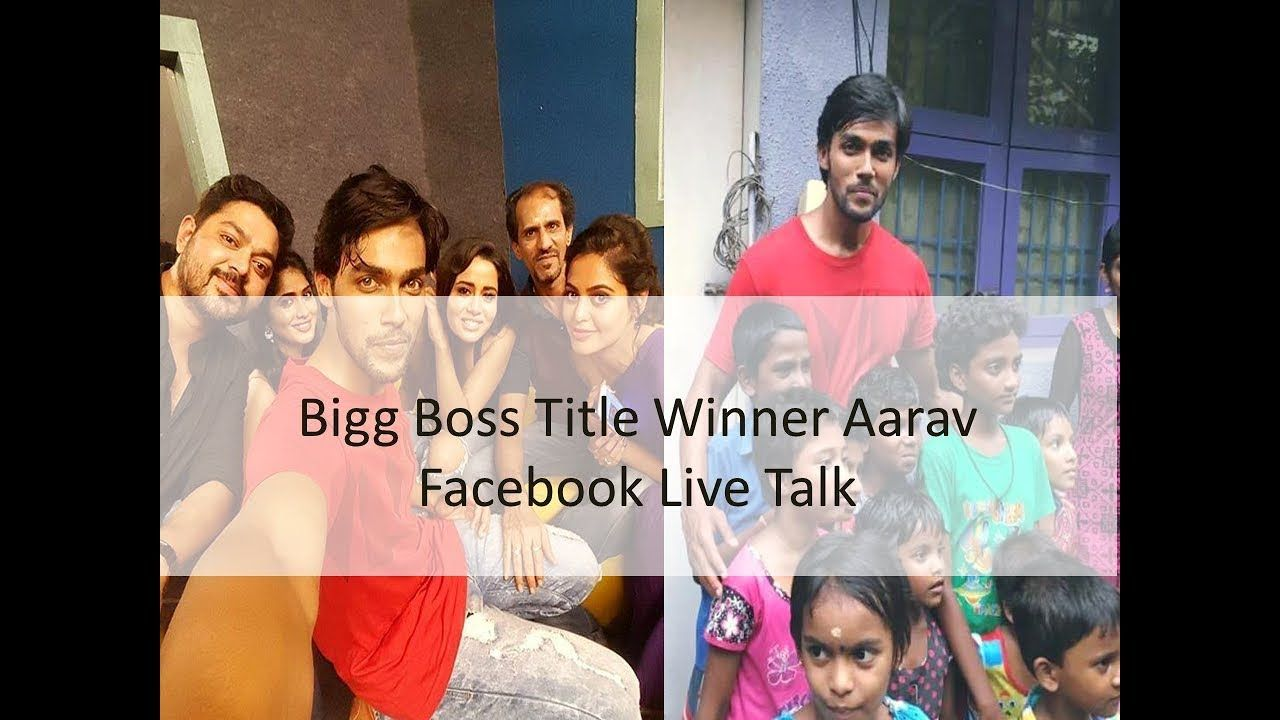 Bigg Boss Winner Aarav in Facebook Live | Next Film of Aarav | Bigg