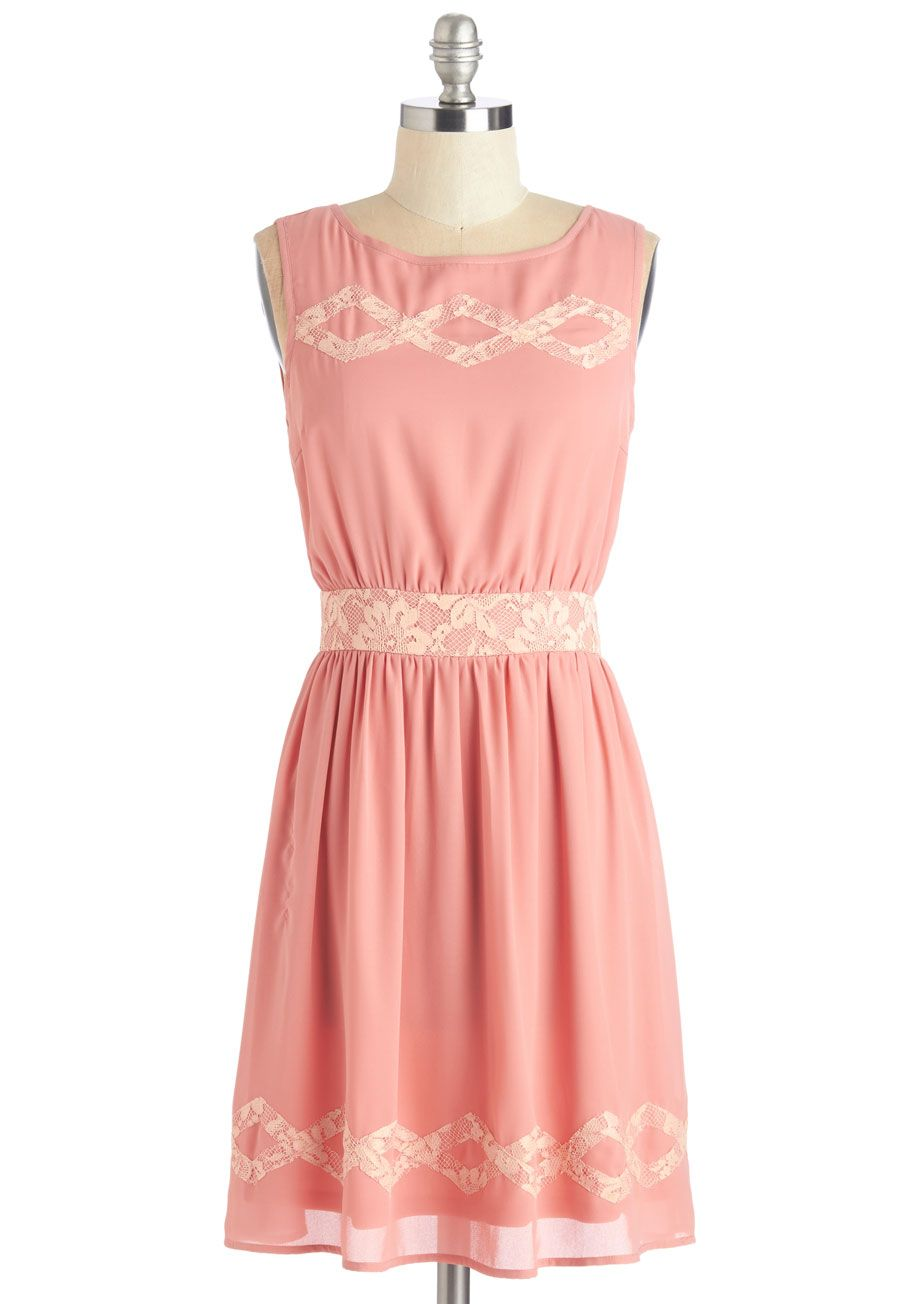 Louche Drive Me Dainty Dress   Daytime dresses, ModCloth and Pink ...