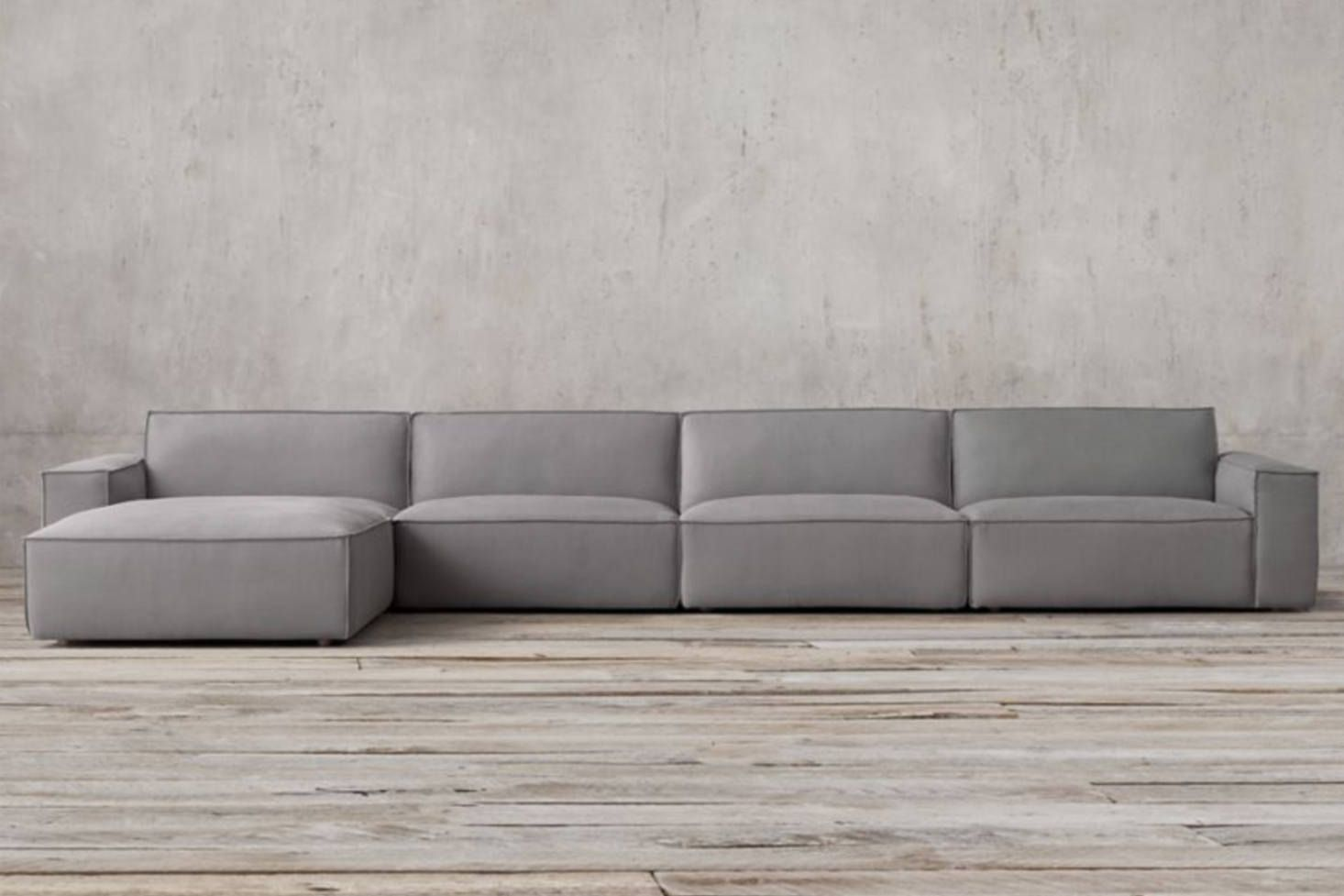 10 Easy Pieces Modular Building Block Sectional Sofas Remodelista Modular Sofa Sectional Sofa Modular Sectional Sofa