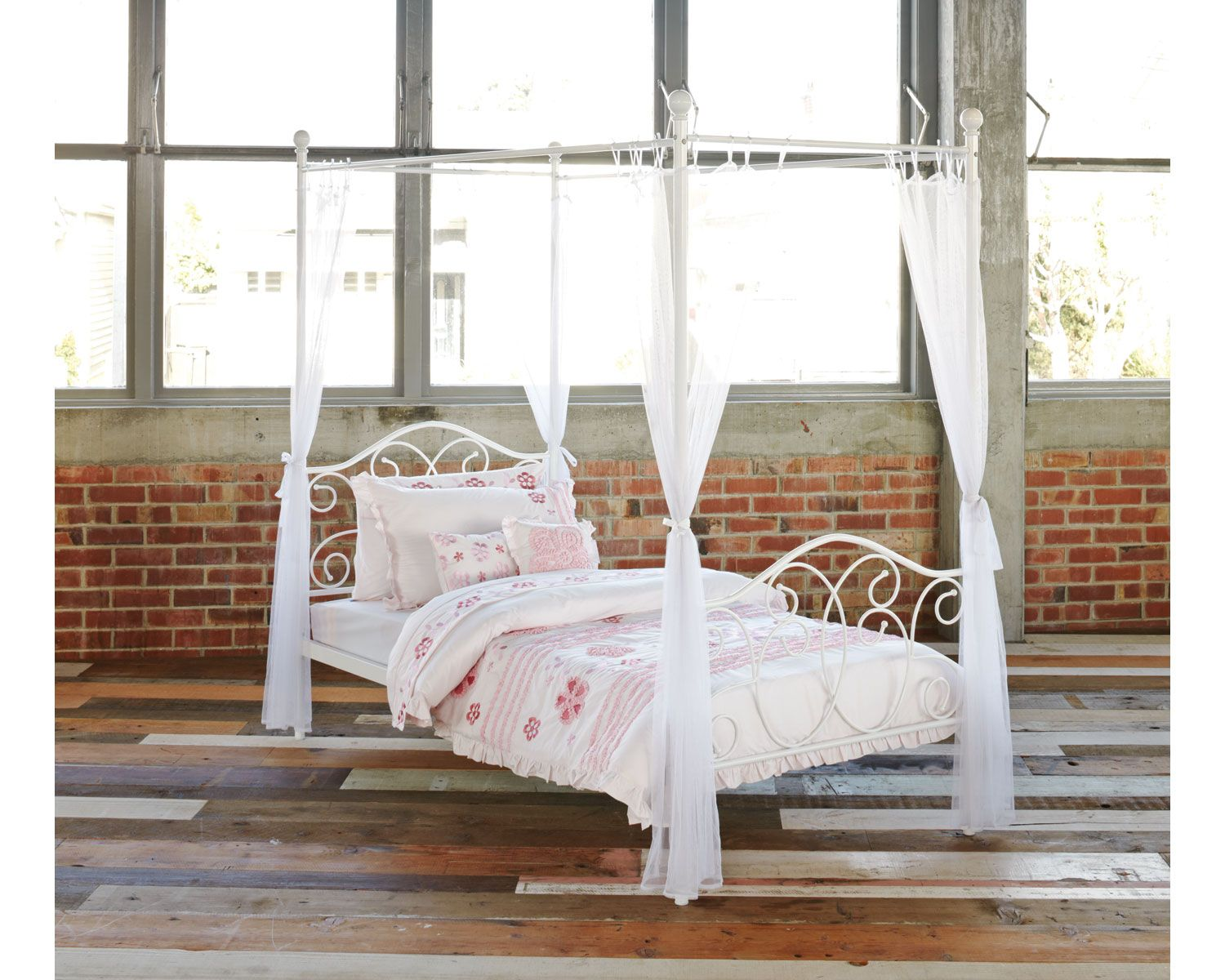 love this floor Bedroom diy, Bed frame, Four poster bed
