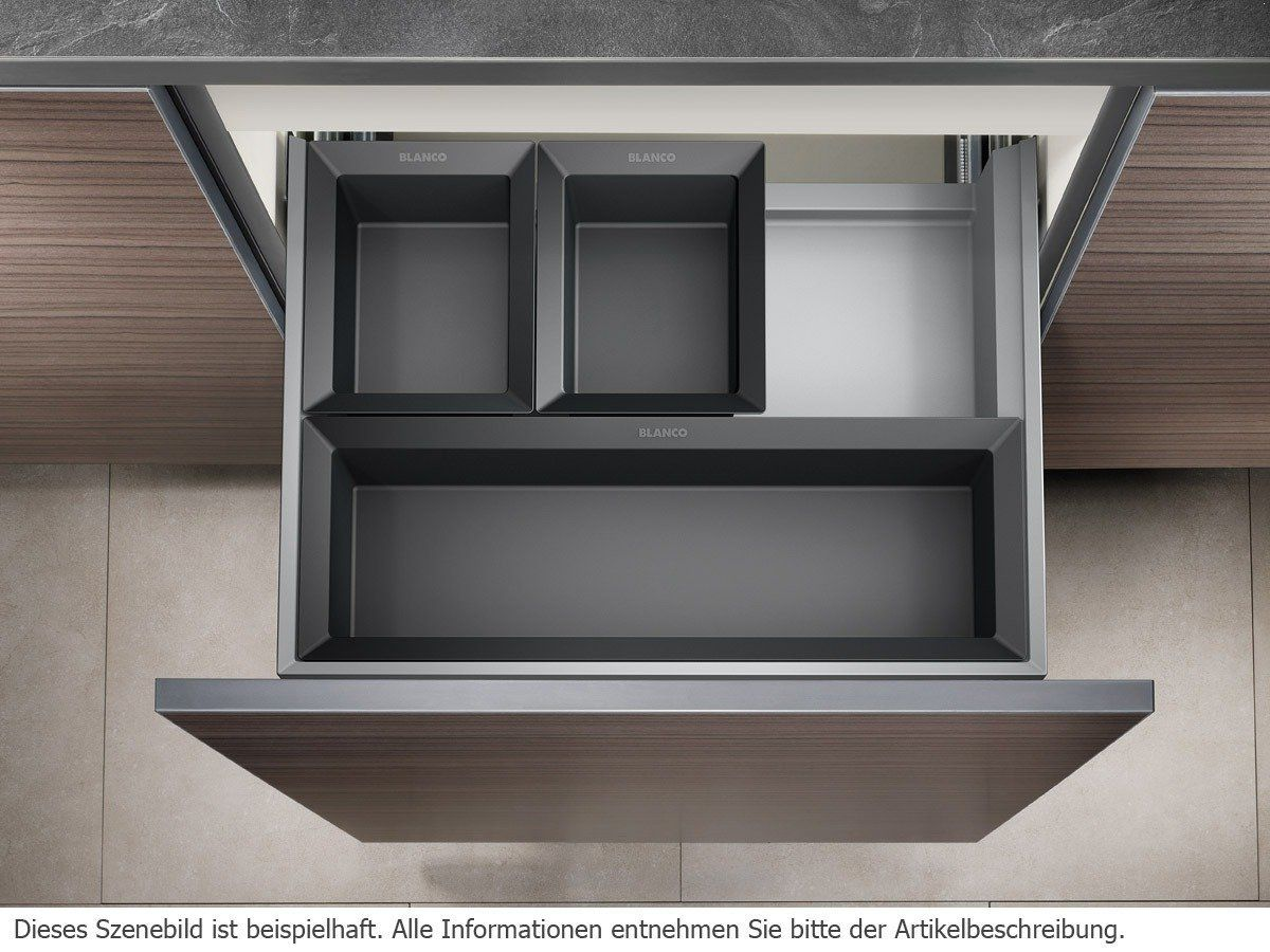 blanco select 60 3 orga einbau abfallsammler. Black Bedroom Furniture Sets. Home Design Ideas