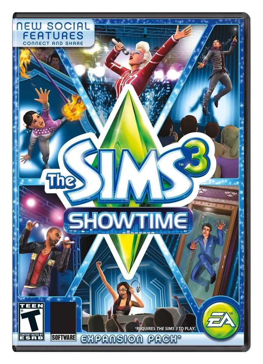 The Sims 3: Showtime Expansion Pack Windows PC/Mac Game Download