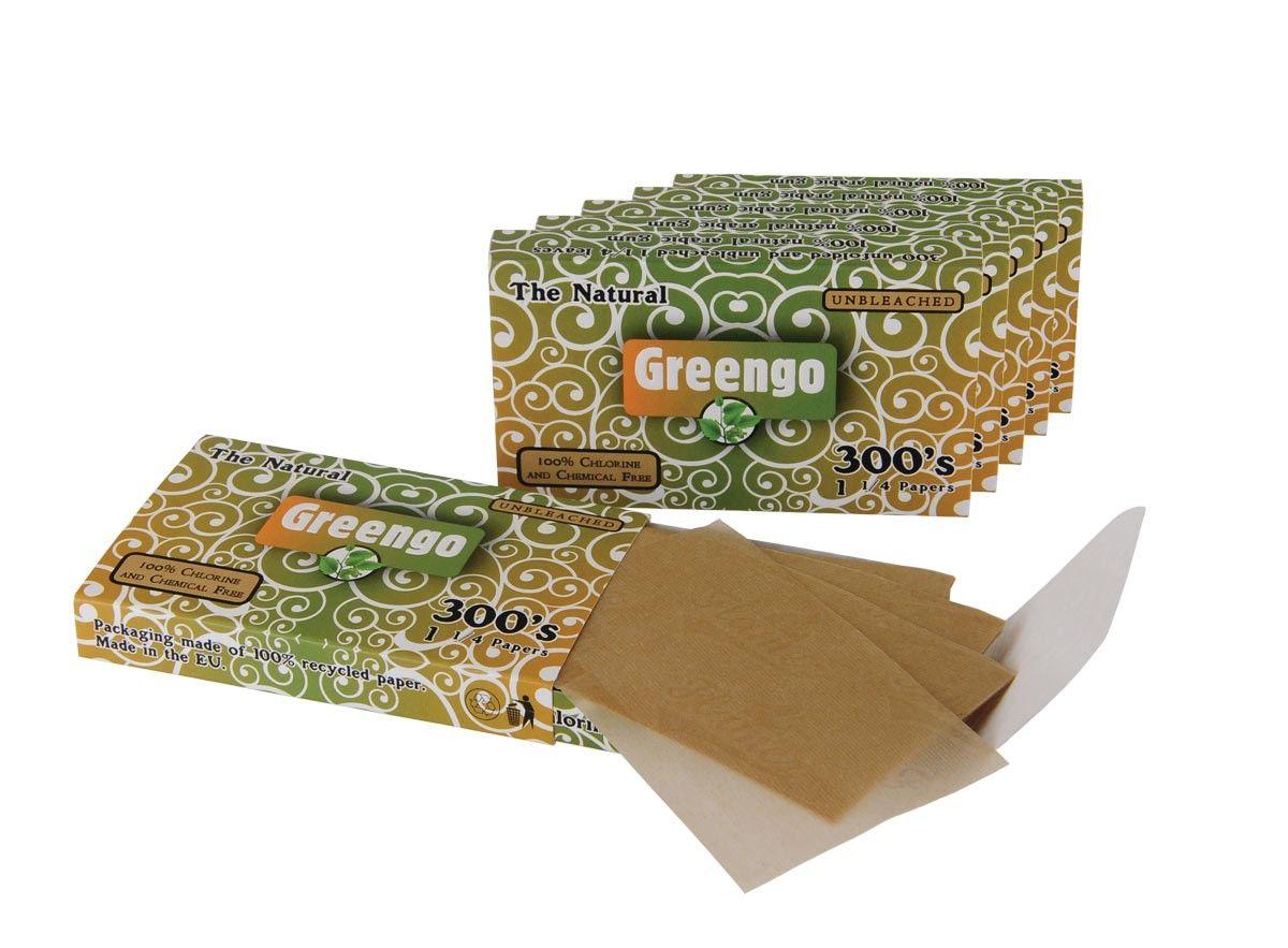 Greengo Unbleached 1 1/4 300'S 5 Pcs