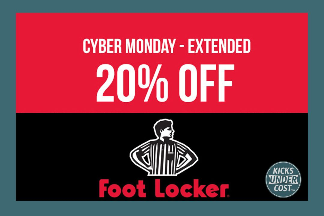 Foot Lockers 20% Off Sitewide Cyber Monday Sale Happening Now!