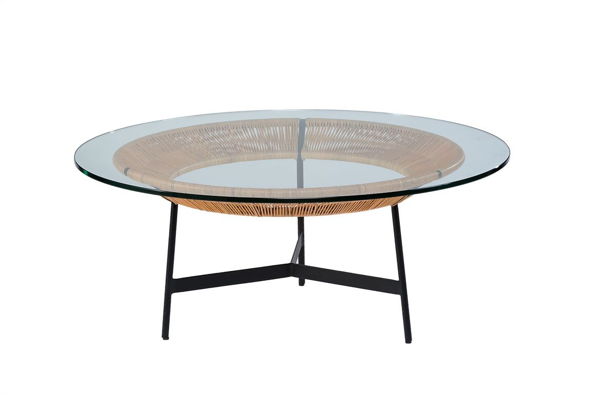 Our Lincoln Round Coffee Table Has A Slender Bronze Wrought Iron Frame And Mirrored Coffee Tables Iron Coffee Table Glass Top Coffee Table [ 1600 x 1600 Pixel ]