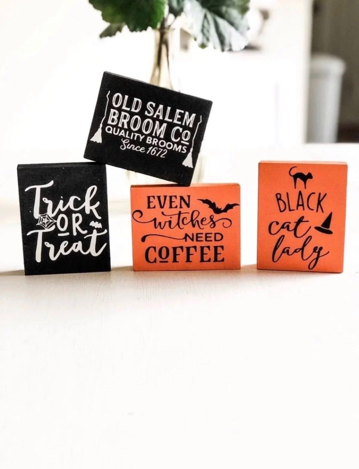 Halloween 2020 - I Be The Witch Of The Wood Mini Wood Halloween WITCH Sign Bundle in 2020 | Halloween wood