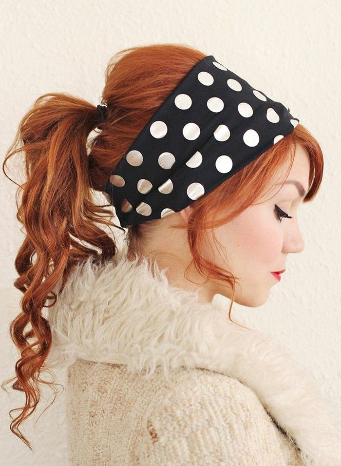 1001 Ideas For Rockabilly Hair Inspired From The 50 S Rockabilly Hair Small Curls Vintage Hairstyles