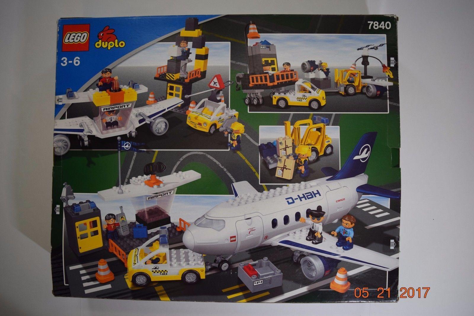 Lego Set~60104retired Airport~large Duplo Airplaneamp; City 7840 see VUzSpGqM