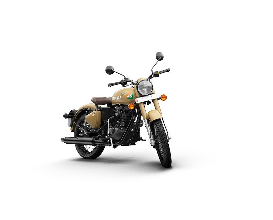 Royal Enfield Classic 350 Stormrider Sand Color Photos Signals