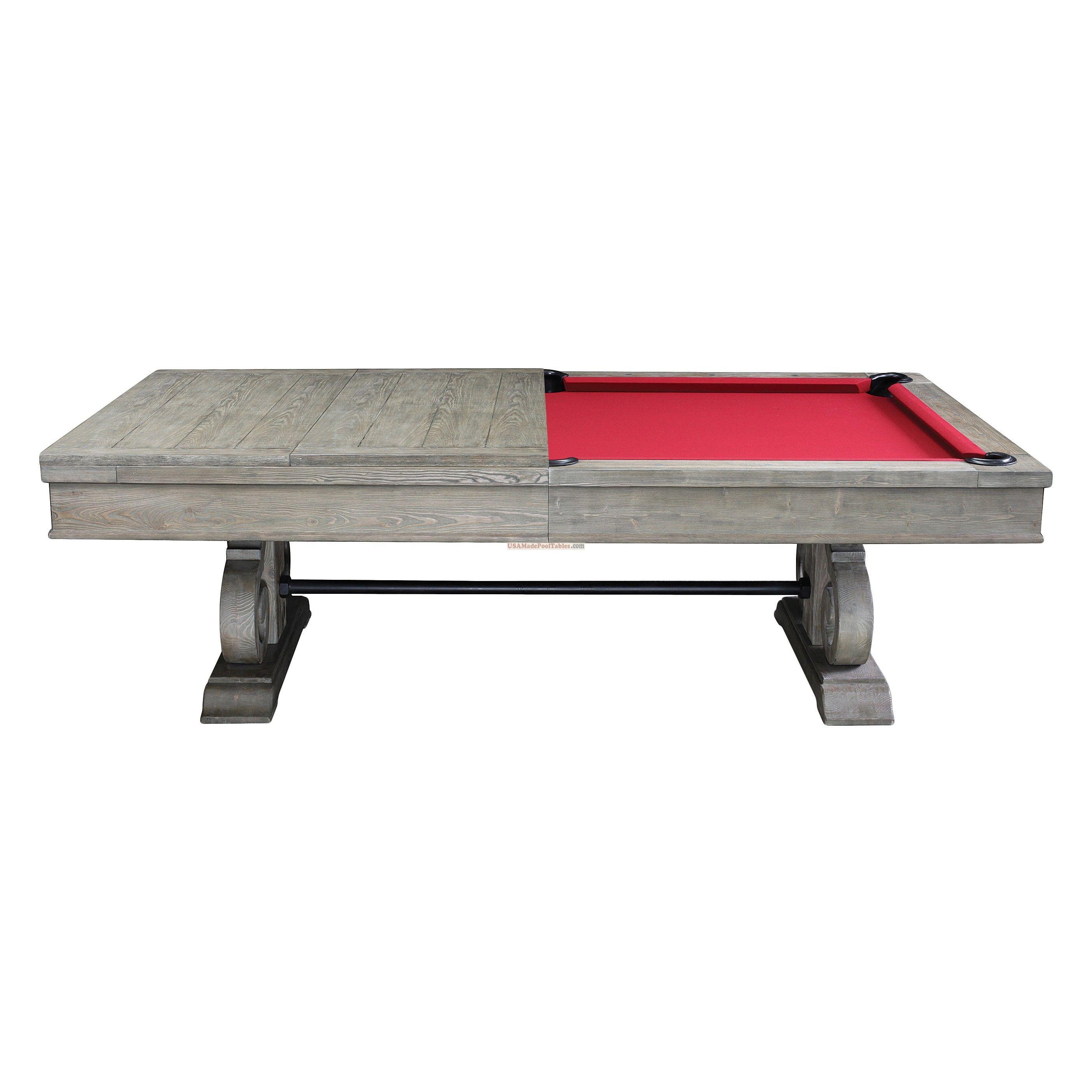 POOL TABLES POOL TABLES POOL TABLE BILLIARDS BILLIARD TABLES - Billiard dining table combination