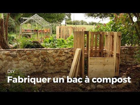 Fabriquer Un Bac À Compost #Compost | Composte | Pinterest | Bac