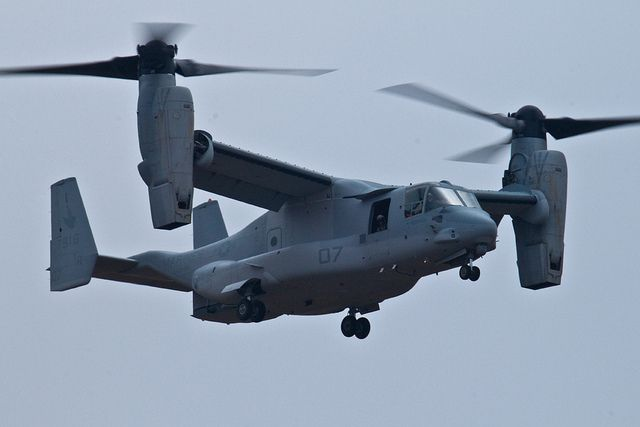 Bell-Boeing MV-22 Osprey by paparazzipizza, via Flickr