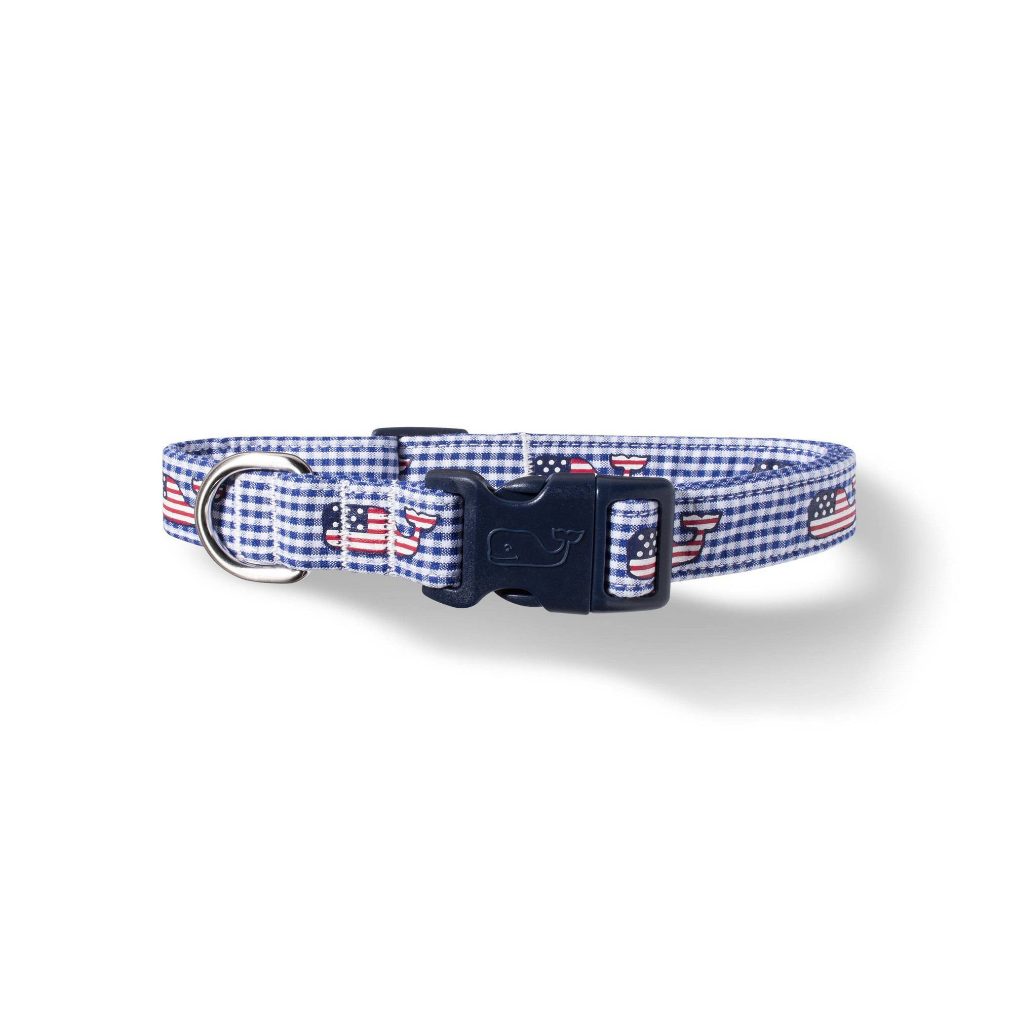 b6fdc8a91012 Flag Whale and Gingham Dog Collar - X Small - Navy - vineyard vines for  Target