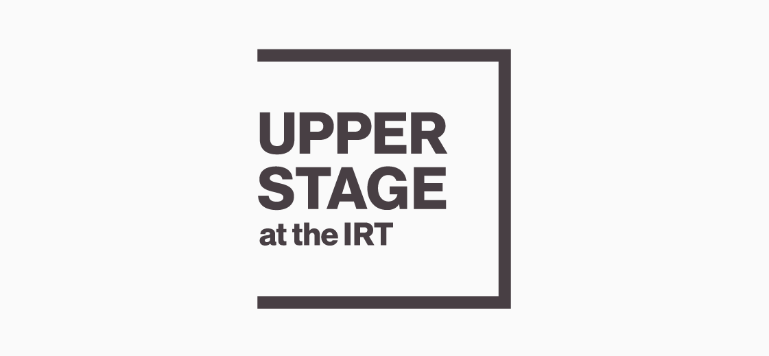 Logo design for the Upperstage at the IRT. #theater #logo