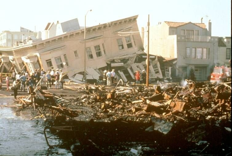 oct 17 1989 san francisco earthquake happend only in 15 seconds but caused the