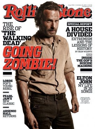 Our 2013 cover story with Andrew Lincoln and 'The Walking Dead' cast.