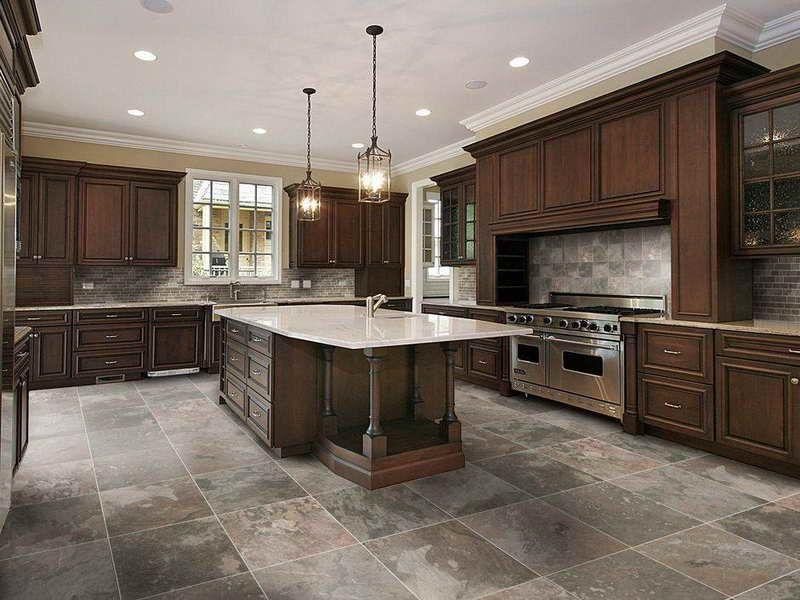 stone kitchen flooring ideas kitchen floor tile ideas ranch