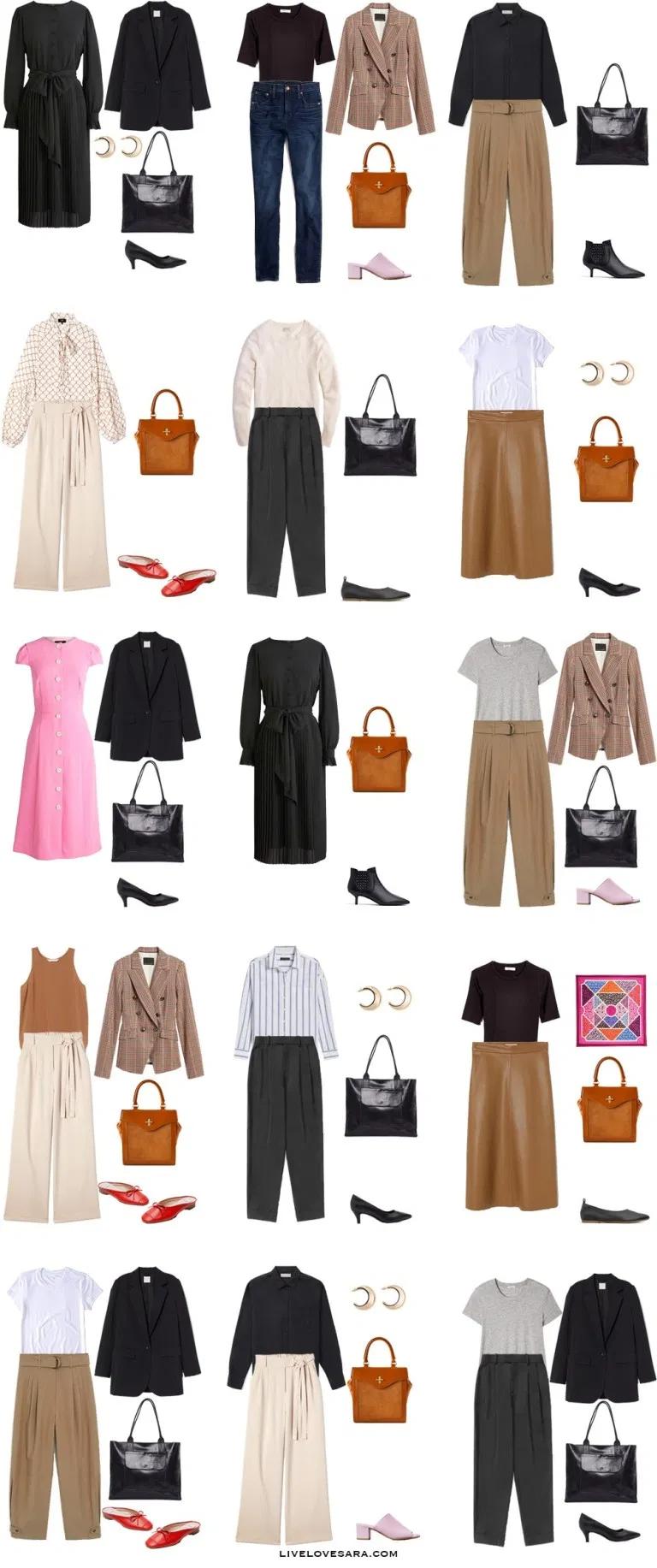 How to Build a Summer Work Capsule Wardrobe - livelovesara