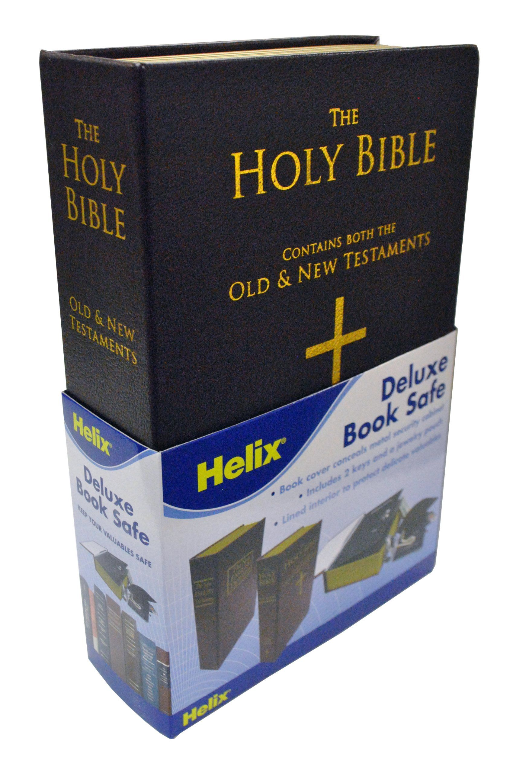 Amazon com: Maped Helix USA Deluxe Holy Bible Homesafe