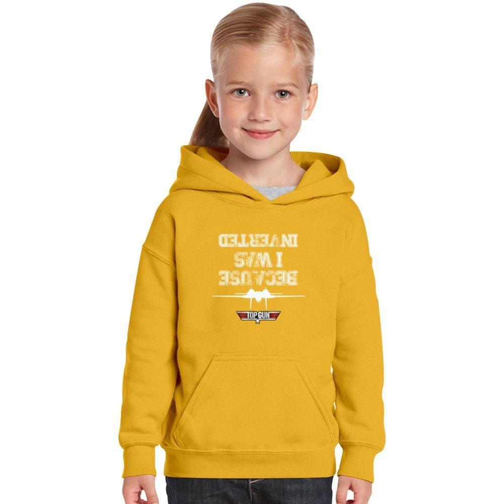 Because I Was Inverted Kids Hoodie