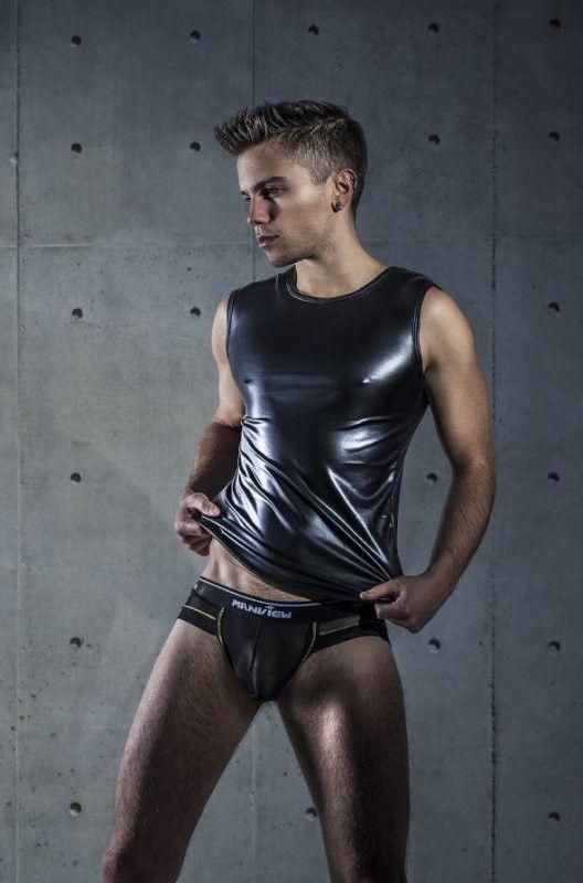 Pin on Teenage guys in leather