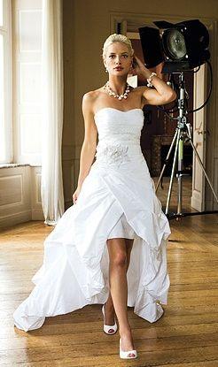 cheap high low wedding dresses