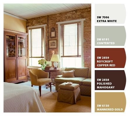 Combina colores en tu sala sala pinterest combinar - Como pintar una casa rustica ...
