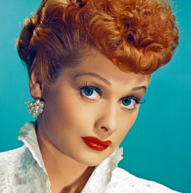 Lucille ball become a redhead