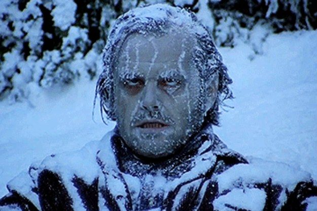 This Is For Everyone Suffering From Freezing Office Syndrome Funny Frozen Quotes Jack Nicholson The Shining Frozen Memes