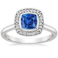 Sapphire Engagement Rings | Brilliant Earth
