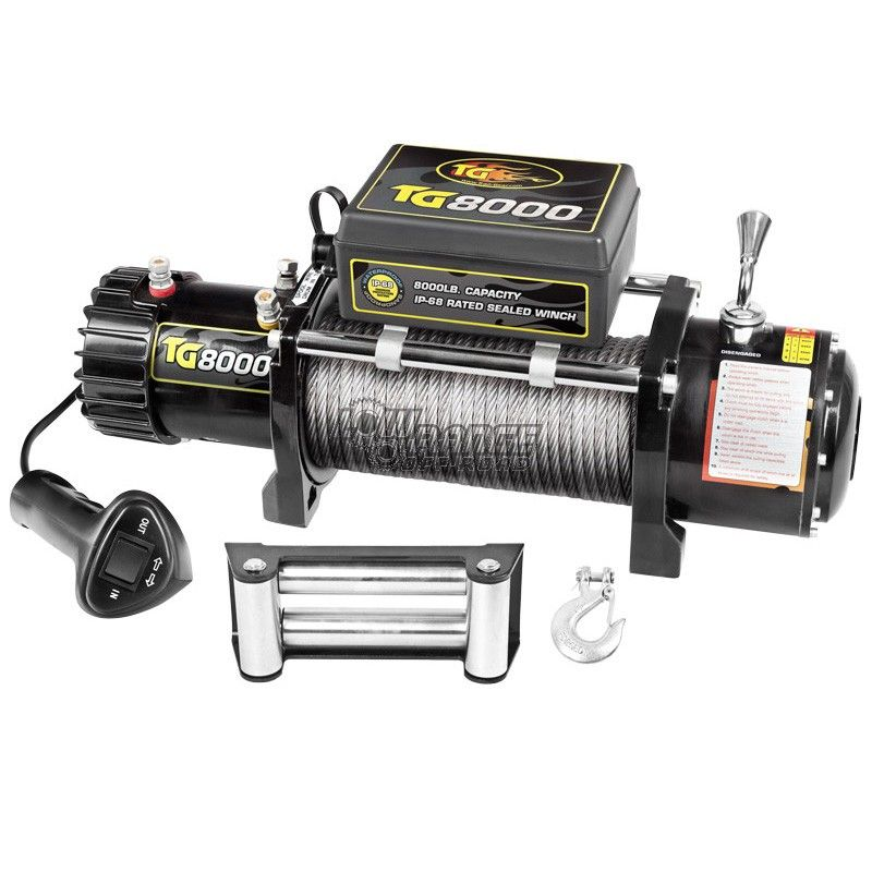Trail-Gear TG8000 Series Winch (180198-KIT)