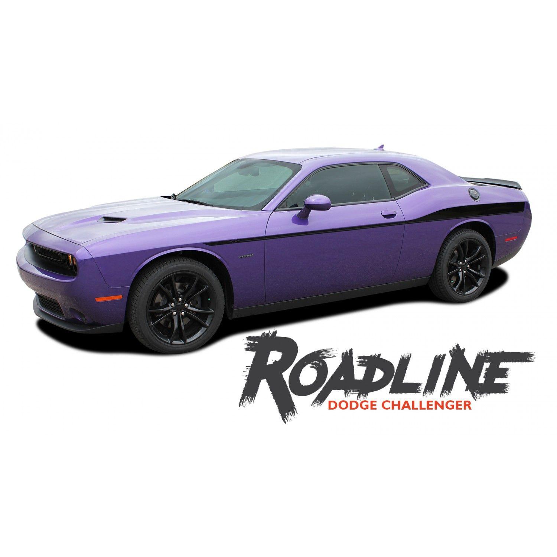 Dodge Challenger ROADLINE Wide Upper Door Body Accent