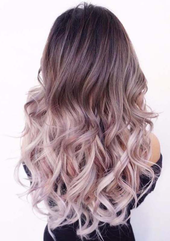 22 Amazing Light Purple Ombre Hair Color Ideas For 2018 Hair Styles Ombre Hair Color Purple Ombre Hair
