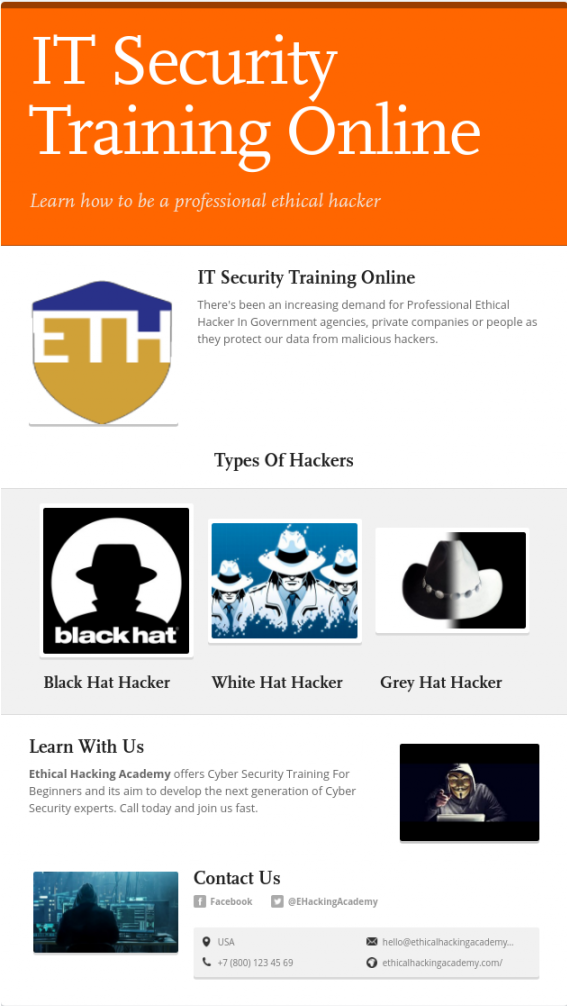 Itsecuritytrainingonline Is Offered By Ethical Hacking Academy We