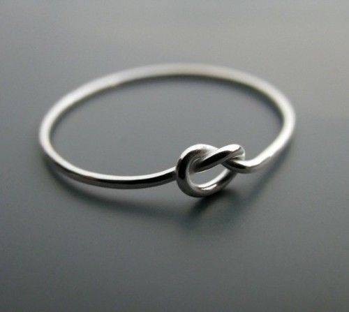 The infinity knot ring. For some reason, I really like it.