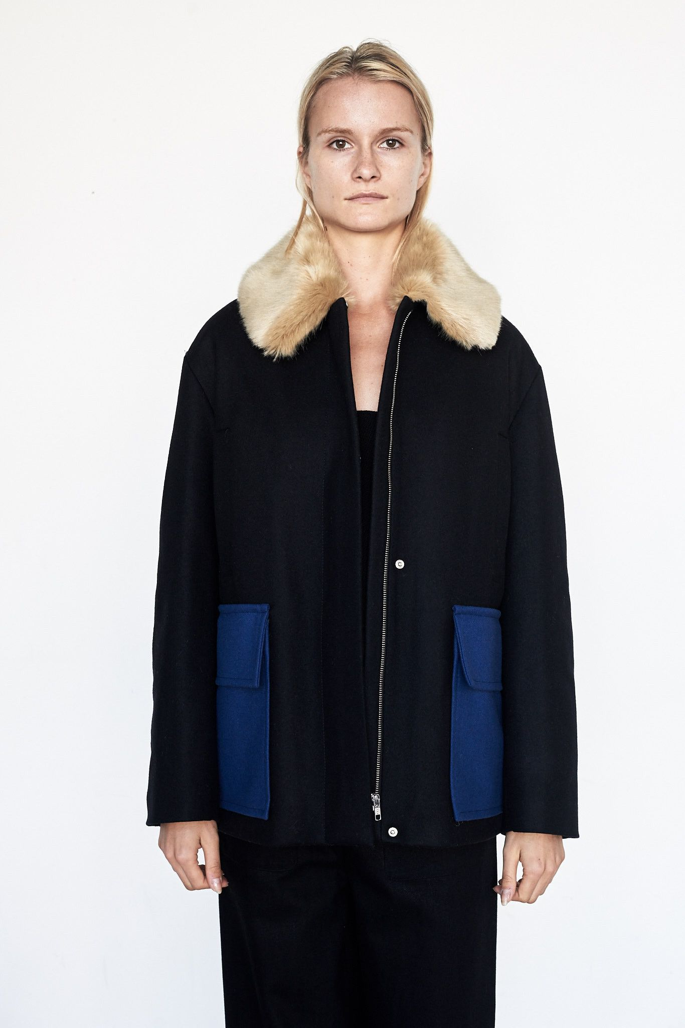Faux Fur Edna Coat