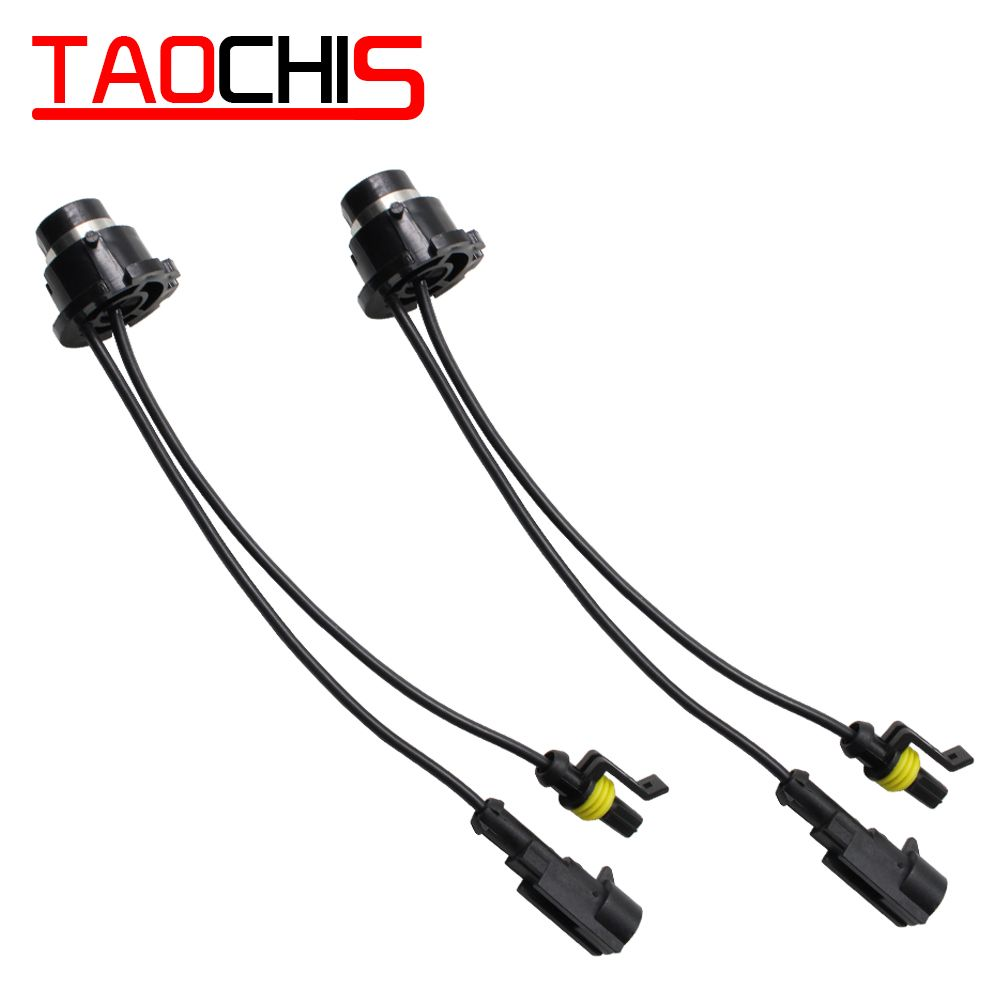 Taochis D2s Amp Adapters To D2s D2r D2c Converters For Aftermarket Hid Kit Ballast Socket Wire Hid Bulbs Ballast Manufacturing