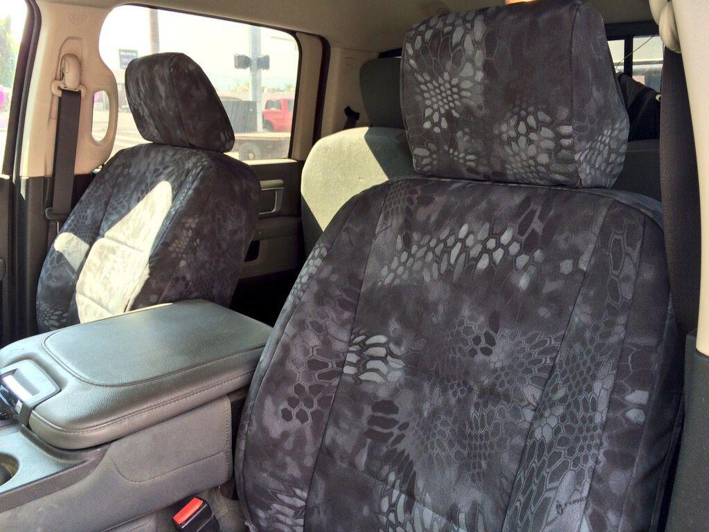 2014 Dodge Ram 3500 Crewcab Tacticalcamo Kryptektyphon Customseatcovers Coversandcamo Com Leather Seat Covers Custom Seat Covers Camo Seat Covers