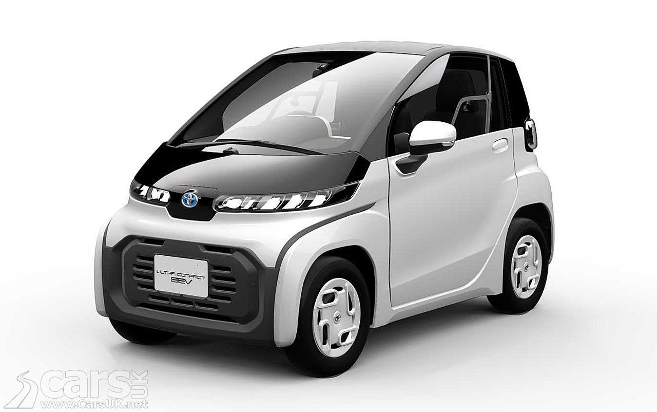 Tiny Toyota Ultra Compact Bev Is A Production Ready Electric City Car Cars Uk City Car Tokyo Motor Show Electric Cars