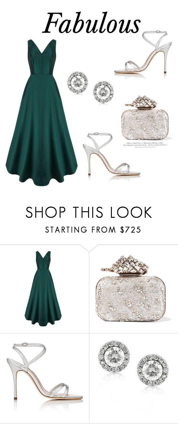 """340"" by meldiana ❤ liked on Polyvore featuring Jimmy Choo, Manolo Blahnik, Mark Broumand and H&M"