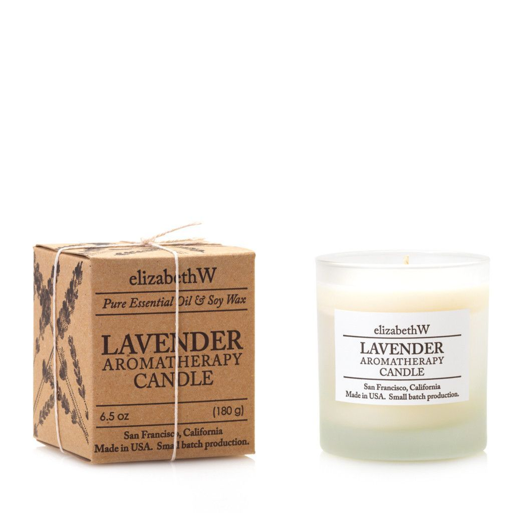 Lavender Perfume Candle