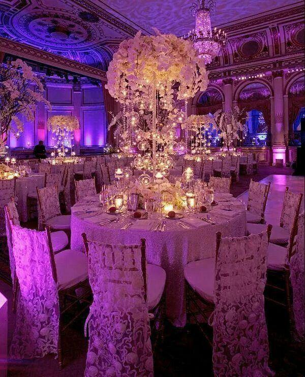 Wedding Decor Lighting Ideas: Gorgeous Girly Wedding...